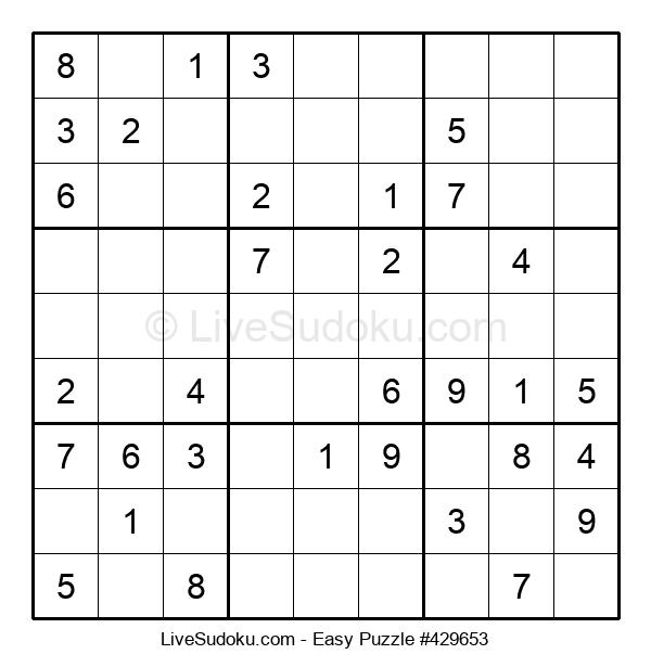 Beginners Puzzle #429653