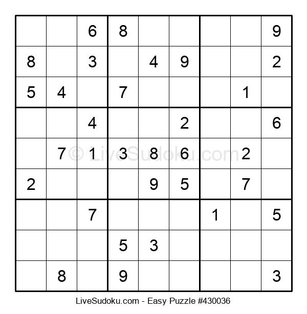Beginners Puzzle #430036
