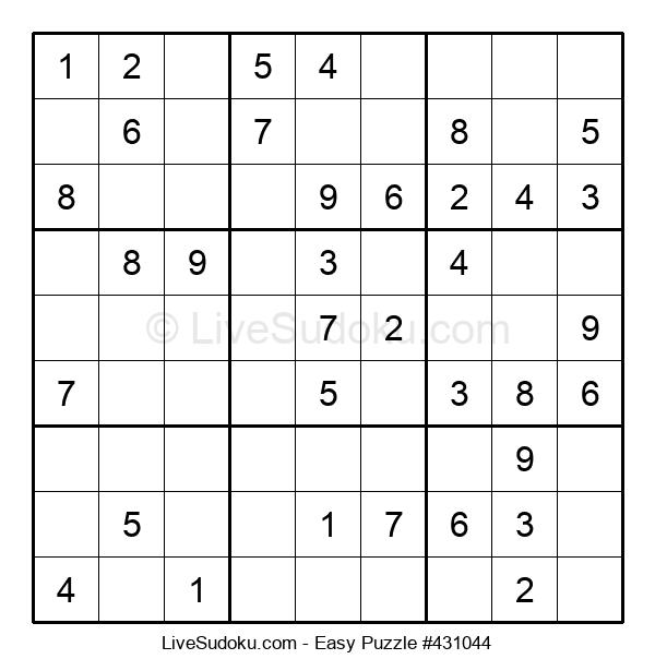 Beginners Puzzle #431044