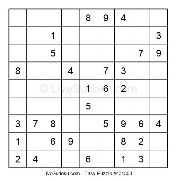 Beginners Puzzle #431300