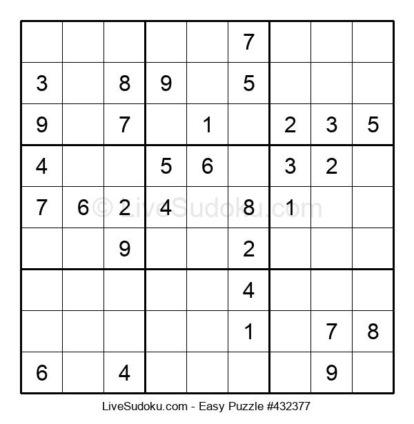 Beginners Puzzle #432377