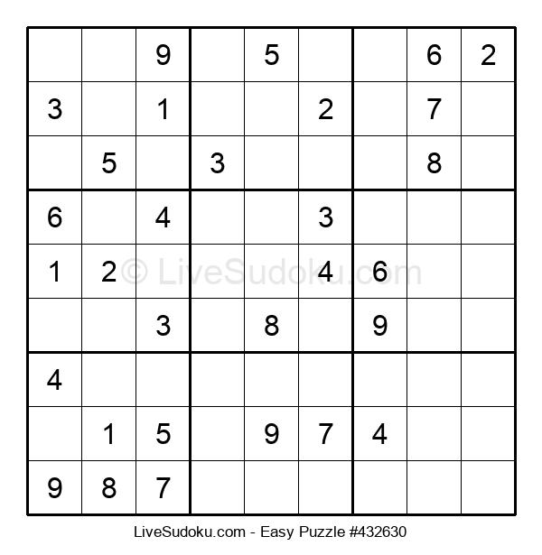 Beginners Puzzle #432630