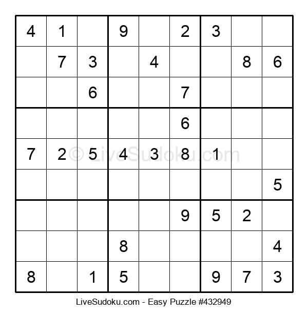 Beginners Puzzle #432949