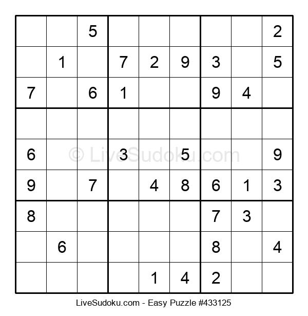 Beginners Puzzle #433125