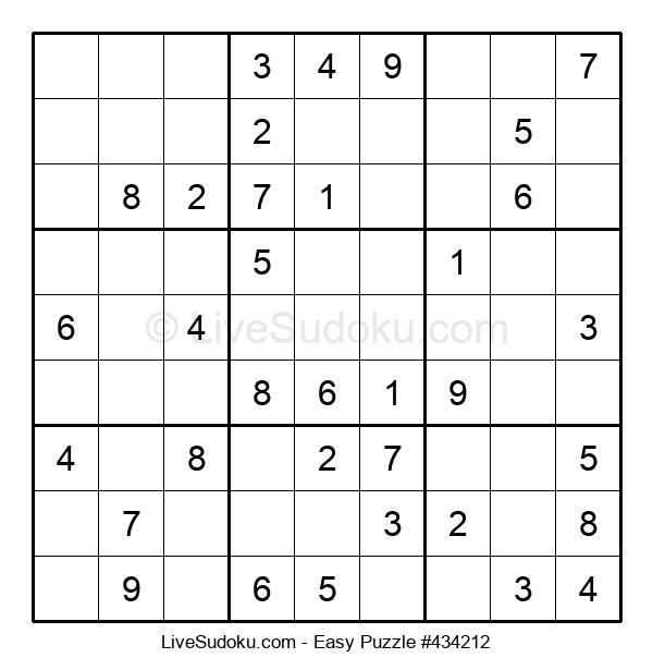 Beginners Puzzle #434212