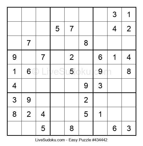 Beginners Puzzle #434442
