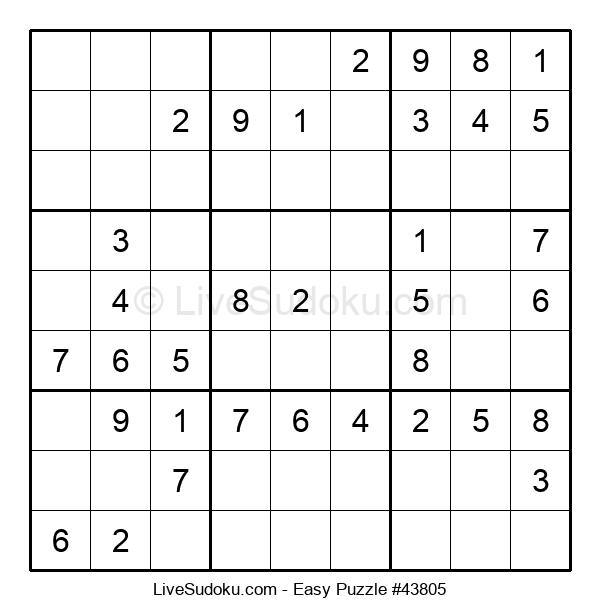Beginners Puzzle #43805