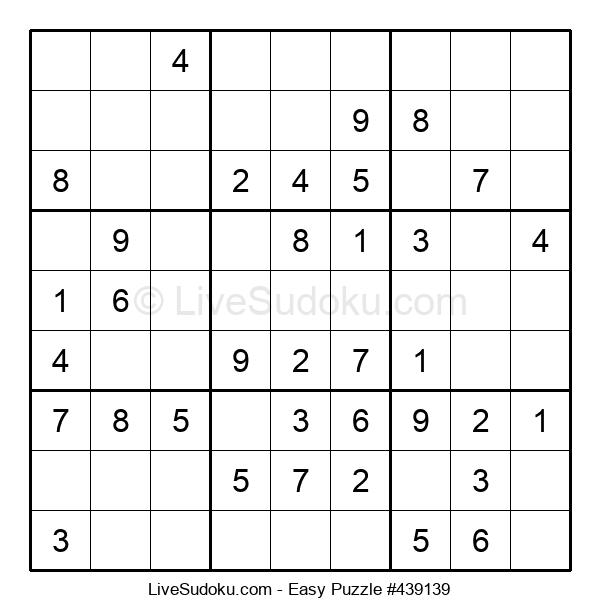 Beginners Puzzle #439139