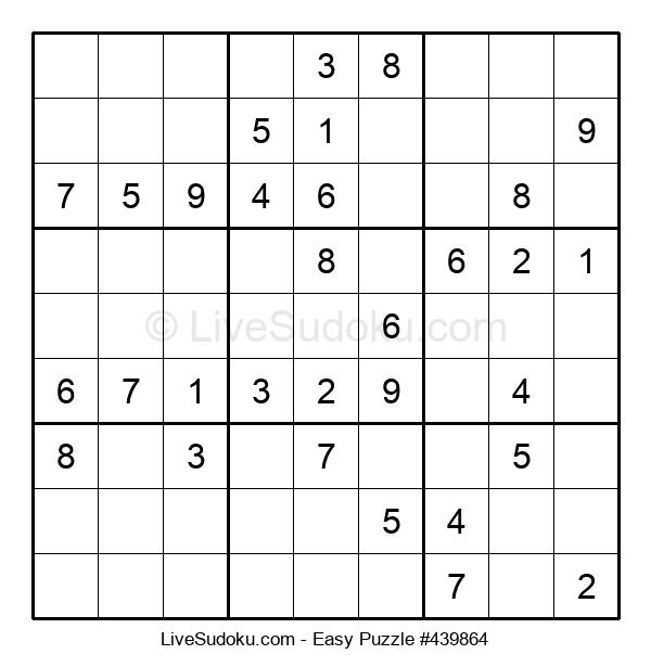 Beginners Puzzle #439864