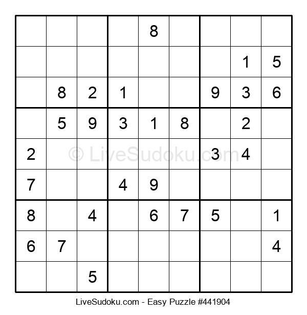 Beginners Puzzle #441904