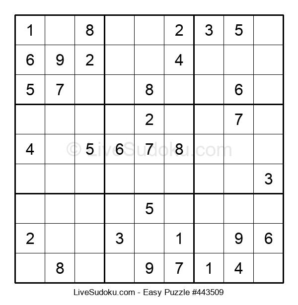 Beginners Puzzle #443509