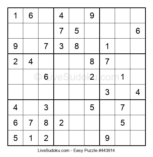 Beginners Puzzle #443914