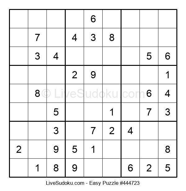 Beginners Puzzle #444723