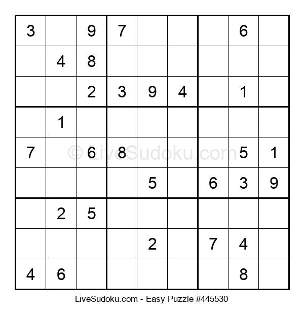 Beginners Puzzle #445530