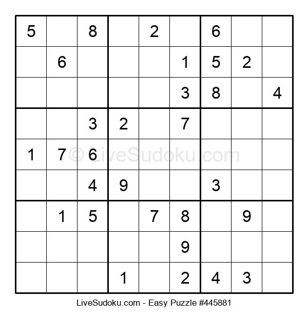 Beginners Puzzle #445881