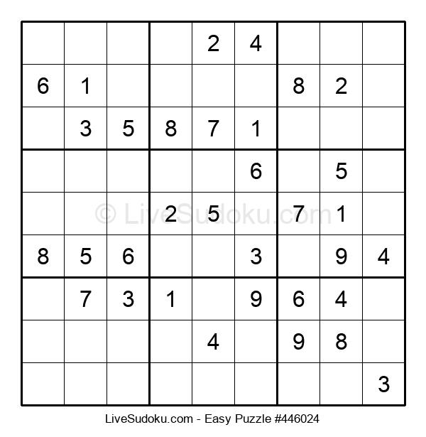 Beginners Puzzle #446024