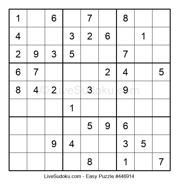 Beginners Puzzle #446914