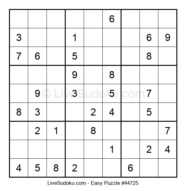 Beginners Puzzle #44725
