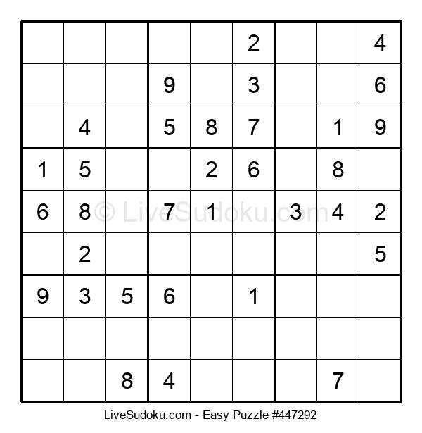Beginners Puzzle #447292