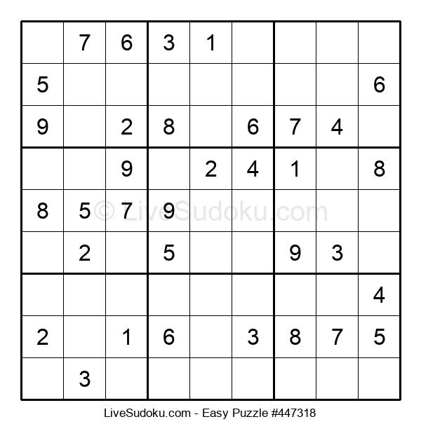 Beginners Puzzle #447318
