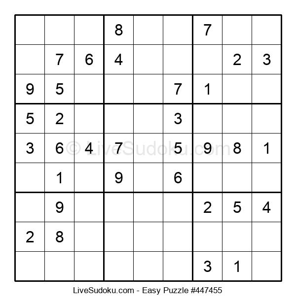 Beginners Puzzle #447455