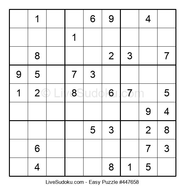 Beginners Puzzle #447658