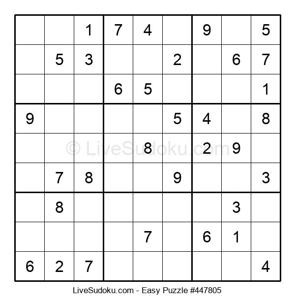 Beginners Puzzle #447805
