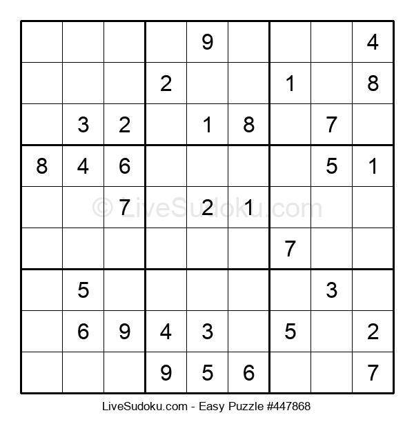 Beginners Puzzle #447868