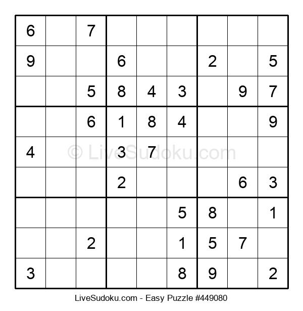 Beginners Puzzle #449080