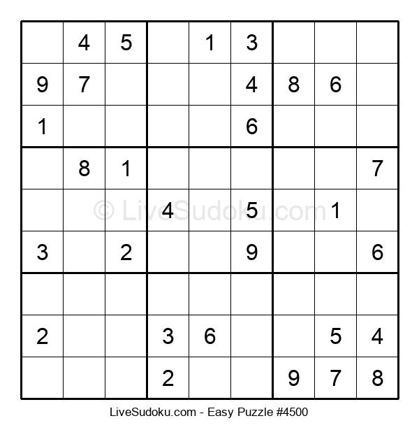 Beginners Puzzle #4500