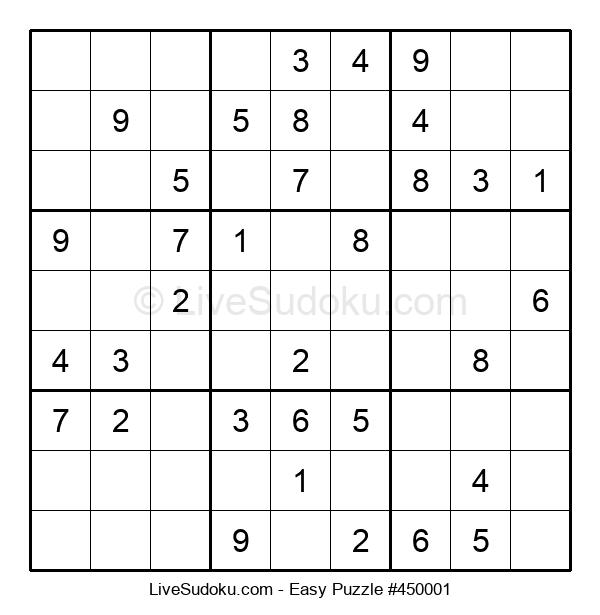 Beginners Puzzle #450001