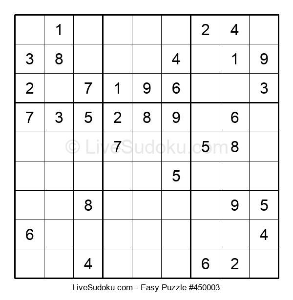 Beginners Puzzle #450003