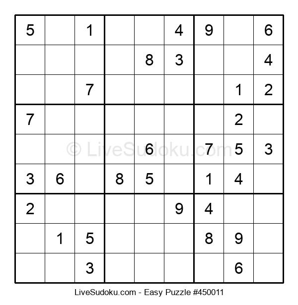 Beginners Puzzle #450011