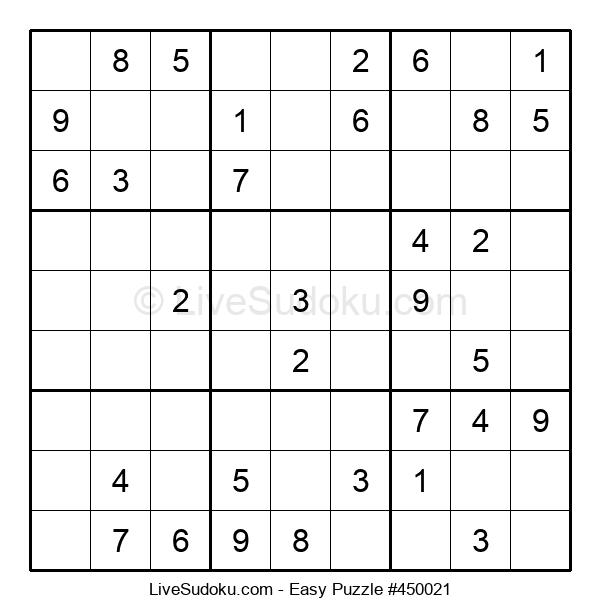Beginners Puzzle #450021