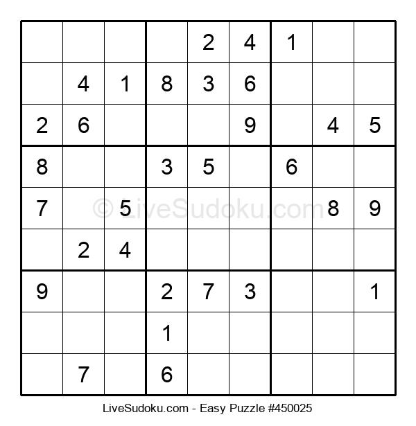 Beginners Puzzle #450025