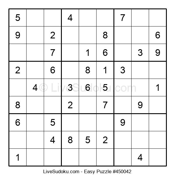 Beginners Puzzle #450042