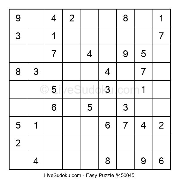 Beginners Puzzle #450045