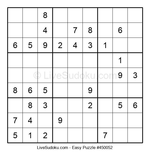 Beginners Puzzle #450052