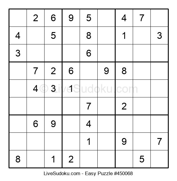 Beginners Puzzle #450068