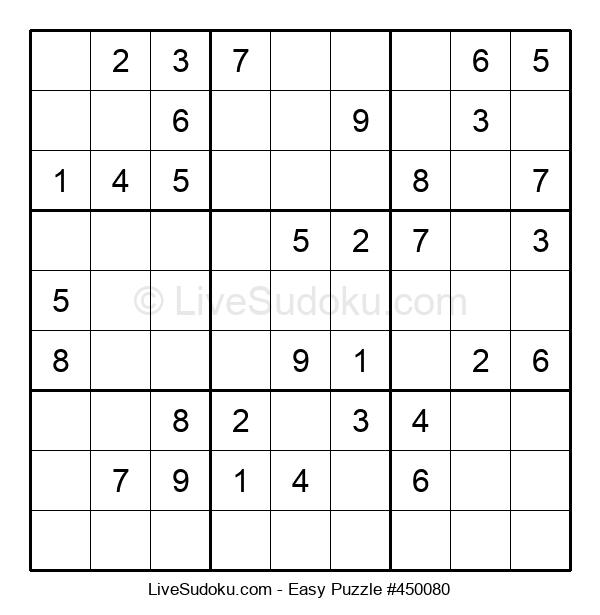 Beginners Puzzle #450080