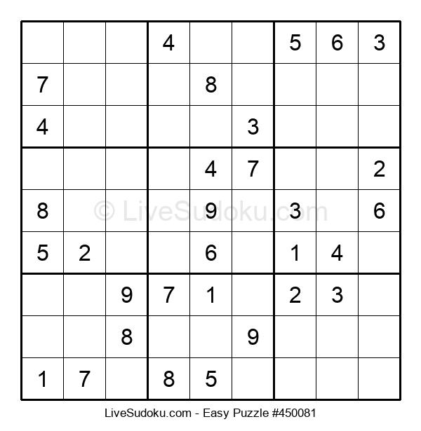 Beginners Puzzle #450081