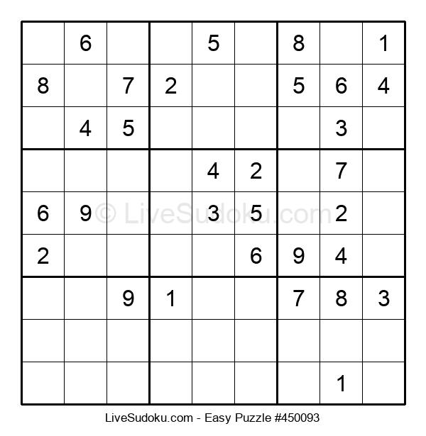 Beginners Puzzle #450093