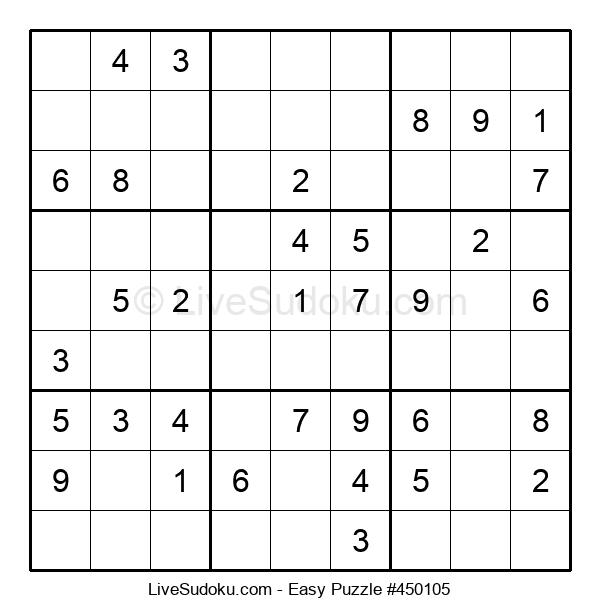 Beginners Puzzle #450105