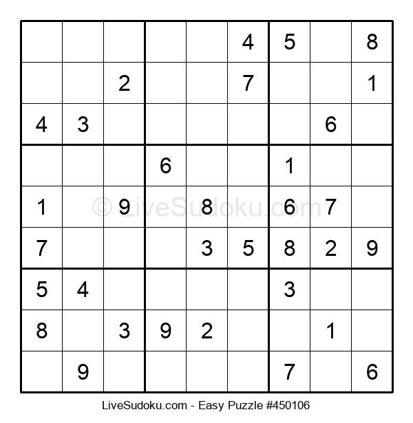 Beginners Puzzle #450106