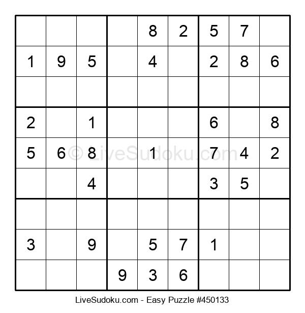 Beginners Puzzle #450133