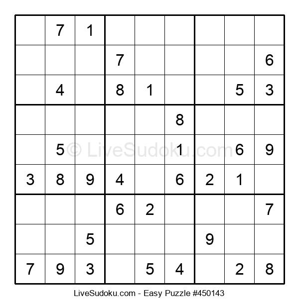 Beginners Puzzle #450143