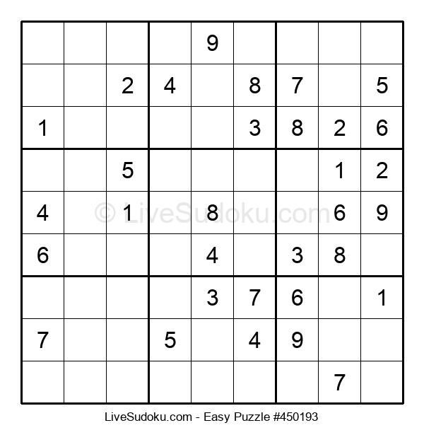 Beginners Puzzle #450193