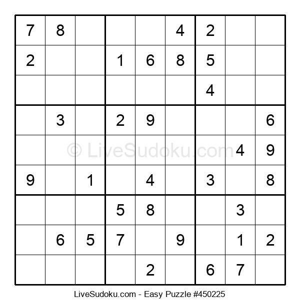 Beginners Puzzle #450225