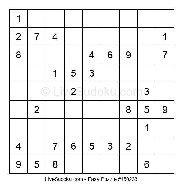 Beginners Puzzle #450233