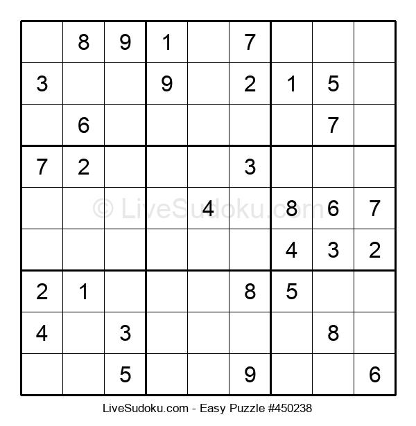 Beginners Puzzle #450238